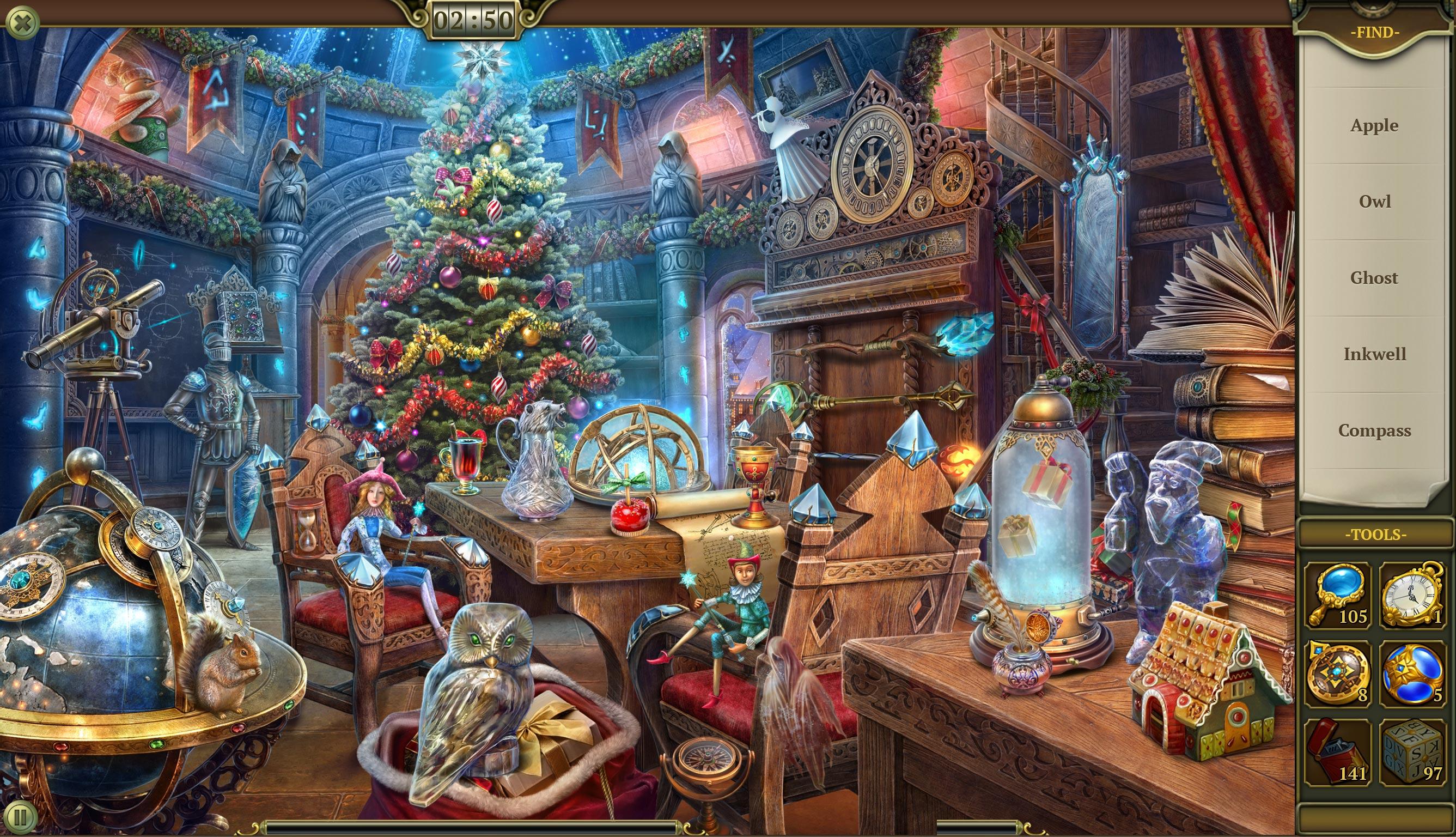 HiddenCity introduction イントロダクション クリスマスの学校