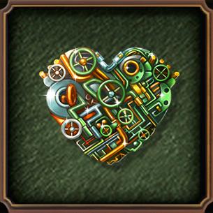 HiddenCity Case1 Collector's Secret iron heart
