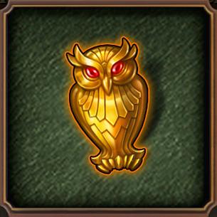 HiddenCity Case1 Collector's Secret Golden Owl
